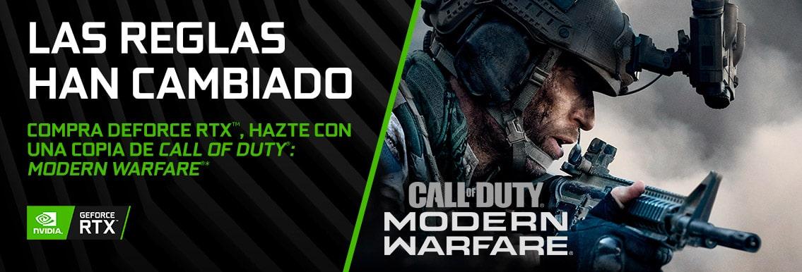 Llevte una copia de Call of Duty Modern Warfare