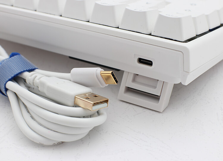 Ducky Mechanical Keyboard Detachable USB Cable