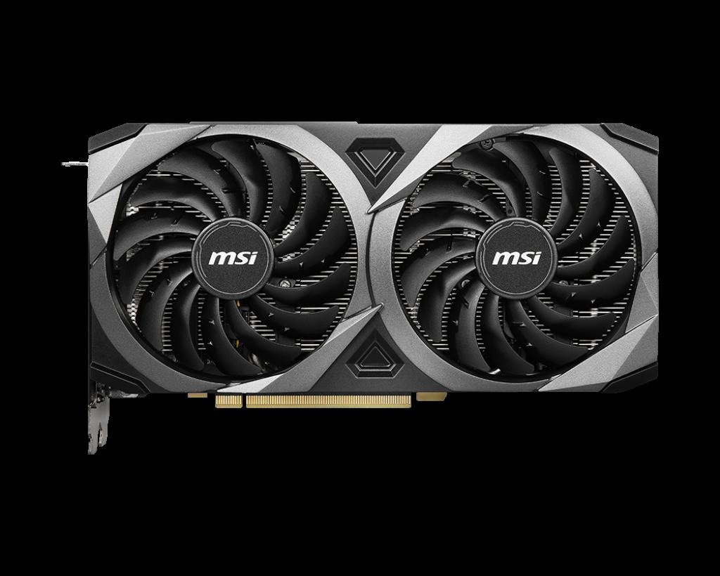 MSI GeForce RTX3060 Ventus 2X OC 12GB GDDR6