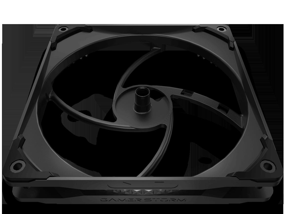 Deepcool Castle 280EX ARGB Black – Refrigeración Líquida