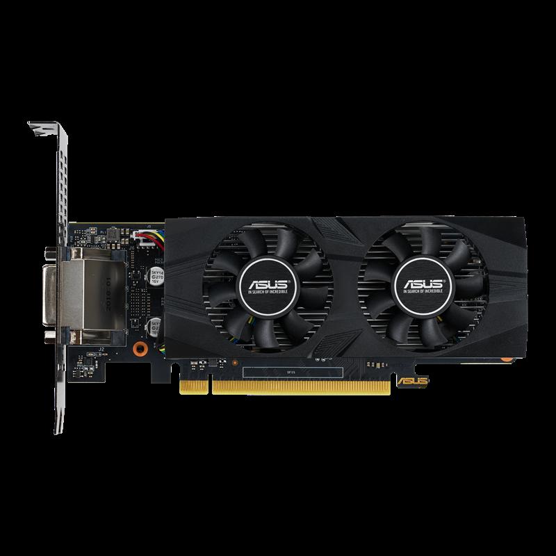 Asus GeForce GTX1650 OC LP 4GB GDDR5