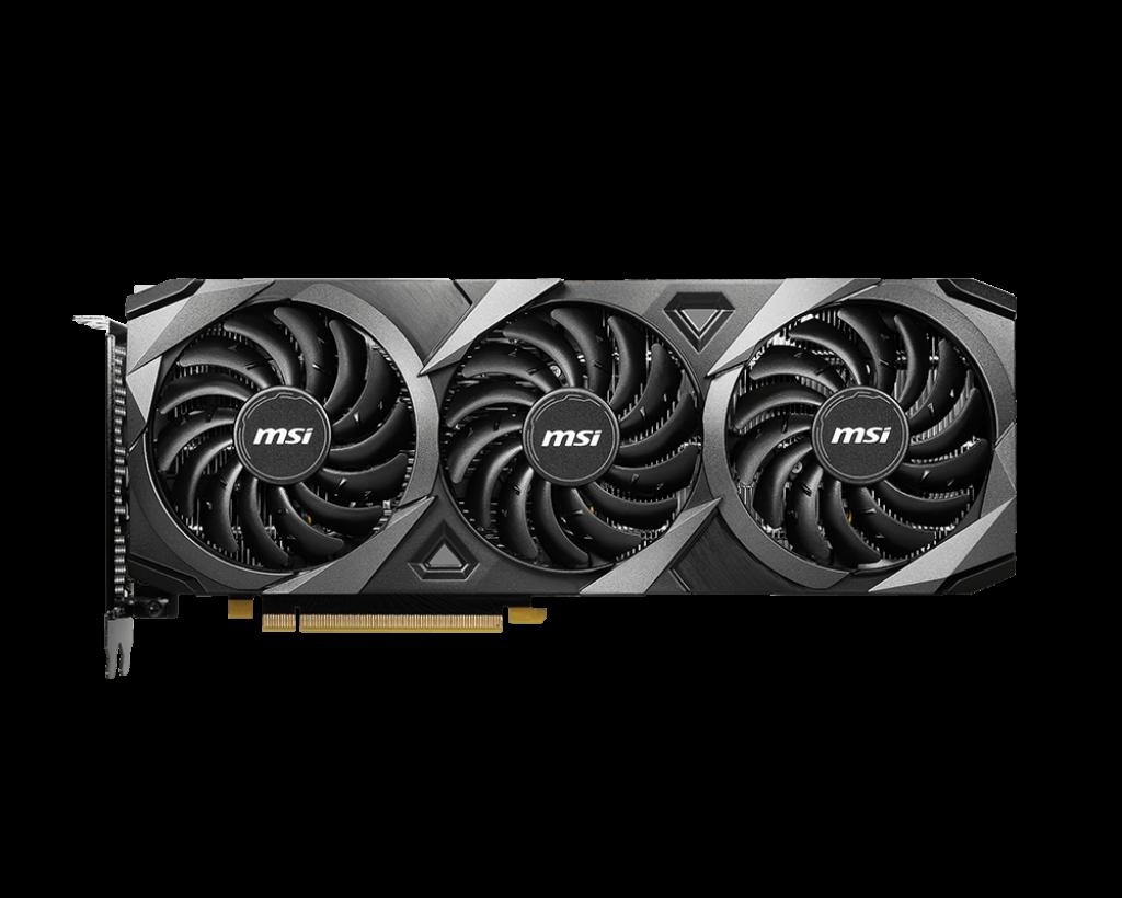 MSI GeForce RTX3060 Ventus 3X OC 12GB GDDR6
