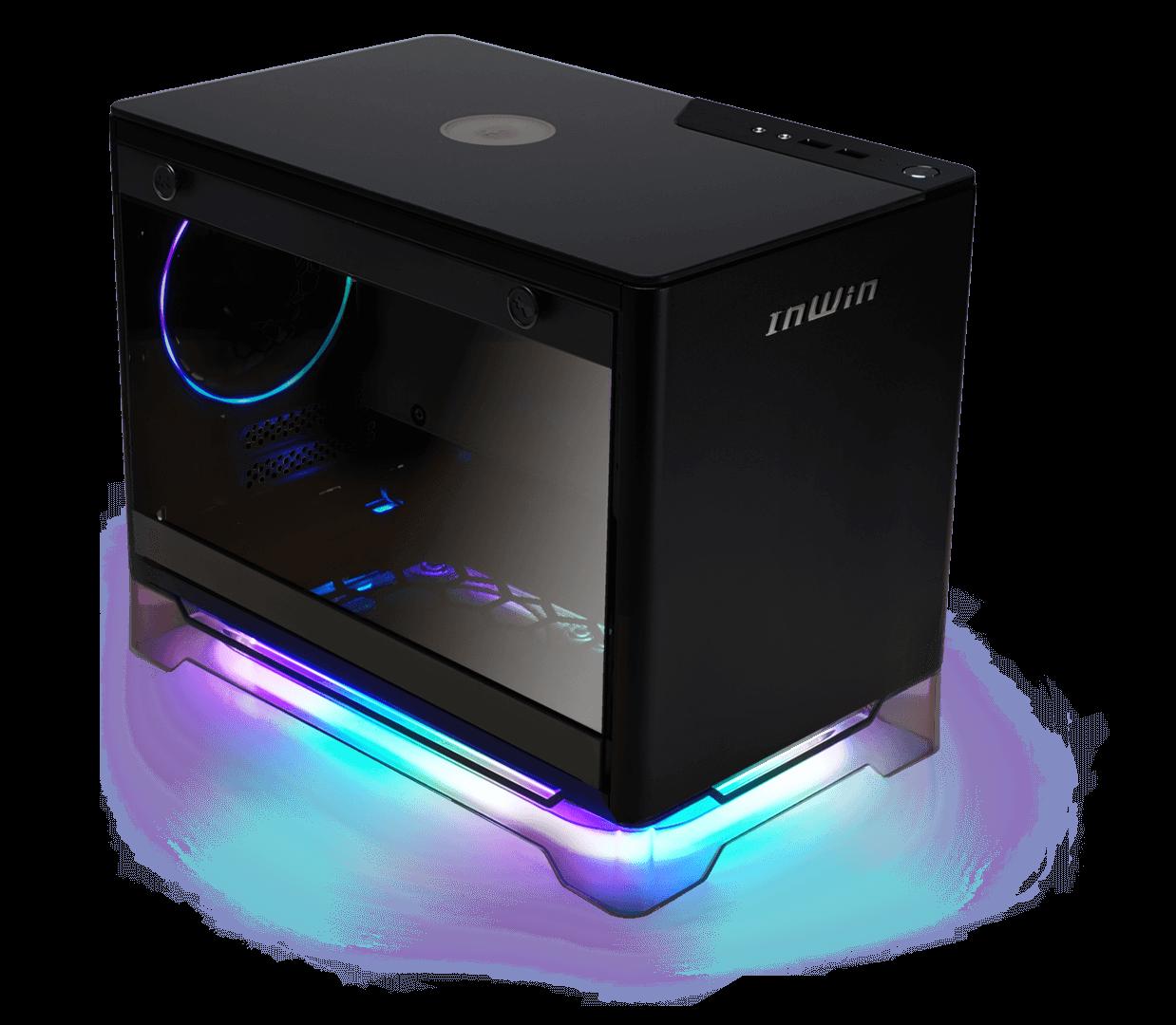 InWin A1 Plus Cristal Templado USB 3.0 Negro