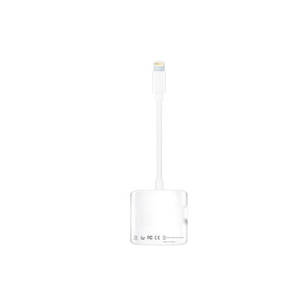 ADATA Lightning lector AI910 blanco SD  MicroSD