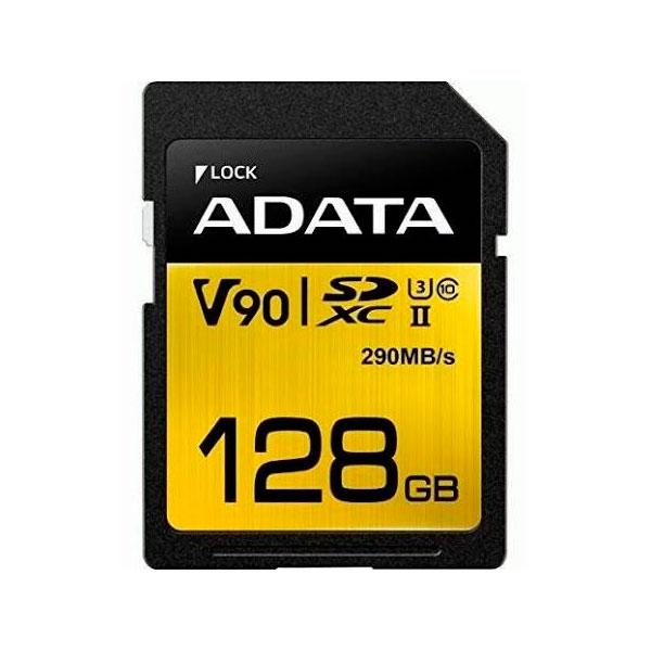 ADATA SDXC UHSII U3 clase 10 128GB Premier One