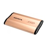 ADATA externo SSD SE730H dorado 512GB USB 3.1 Gen 2 Type C