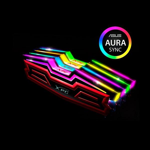 MEMORIA ADATA DIMM DDR4 16GB 3000MHZ XPG LEDRGB SD40HS