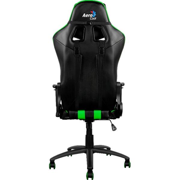 Aerocool AC120 negra  verde  Silla