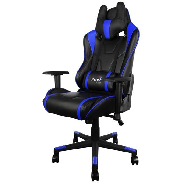 Aerocool AC220 negra / azul – Silla