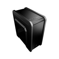 AEROCOOL QS240 BLACK MICRO-ATX USB3.0 WINDOW +12CM BACK FAN