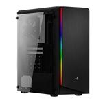 Aerocool RIFT RGB USB 30 con Ventana Negra  Caja