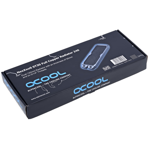 Alphacool NEXXXOS ST30 240MM cobre  Radiador  Reacondicionado