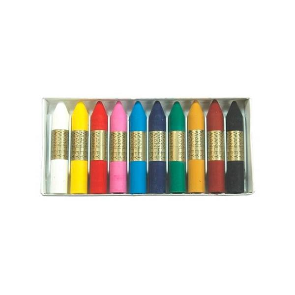 Manley Estuche 10 Ceras Colores Surtidos