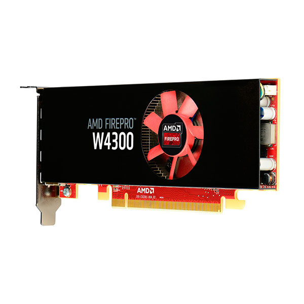 AMD FirePro W4300 4GB  Gráfica