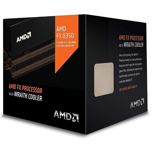 AMD FX-8350 8-Core 4.0GHz AM3+ w/Wraith Cooler - Procesador