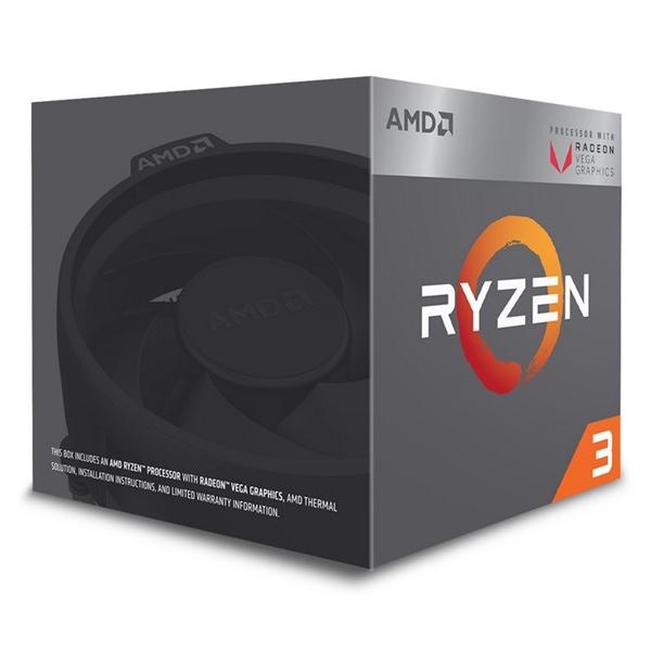 AMD Ryzen 3 2200G 3.7 GHz Vega – Procesador
