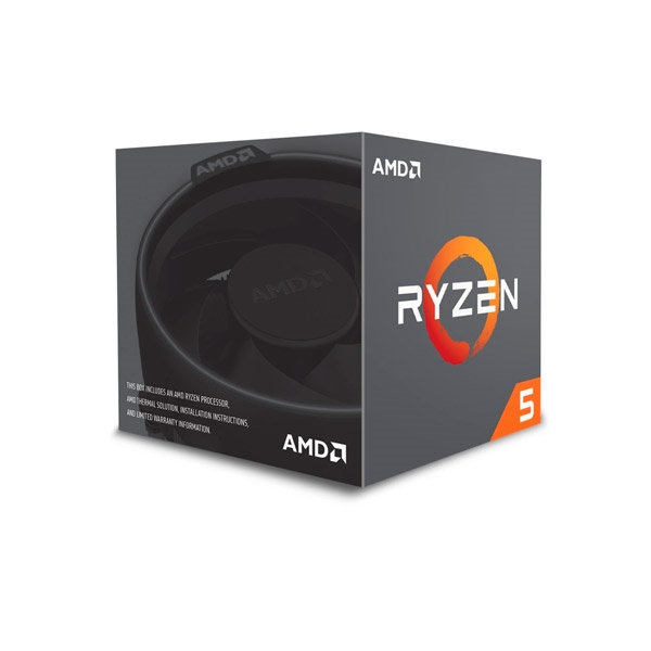 AMD Ryzen 5 2600 3.9GHz AM4 - Procesador