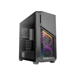 Antec DP502 Flux Black Cristal Templado  Caja