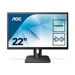 """AOC 22E1D 21,5"""" FHD TN HDMI VGA DVI  – Monitor"""