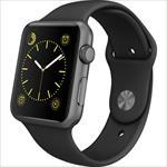 SmartWatch Apple Watch Sport 42 Silver Black