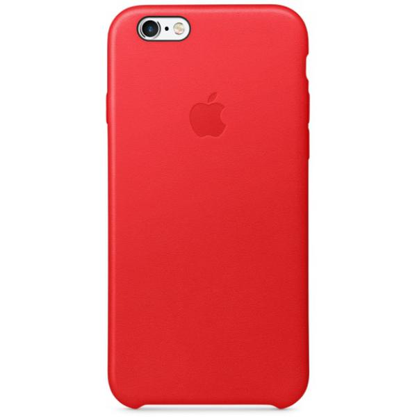 Apple Iphone 6S plus cuero rojo – Funda