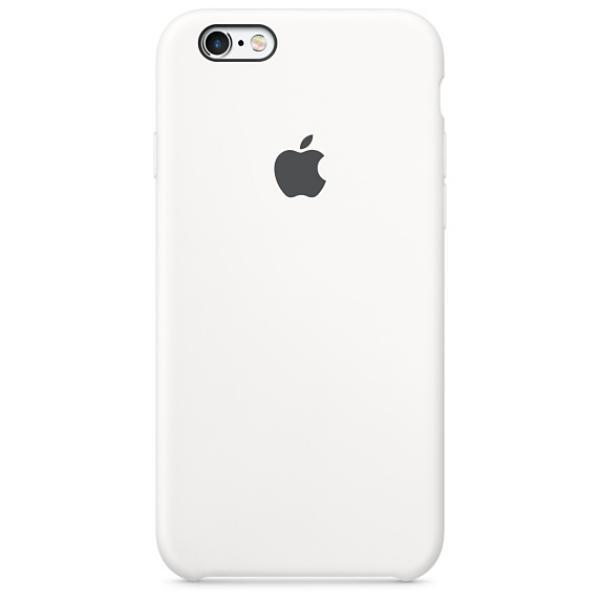Apple Iphone 6S plus silicona blanco – Funda