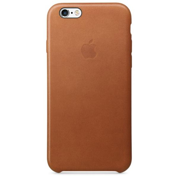 Apple Iphone 6S cuero marron caramelo  Funda