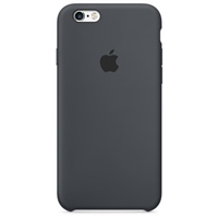 Apple Iphone 6S silicona gris carbón – Funda