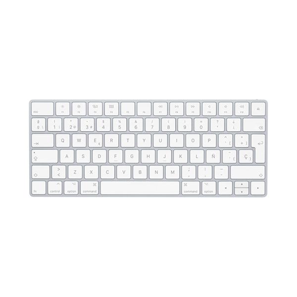 Apple Magic Keyboard Español Plata  Teclado