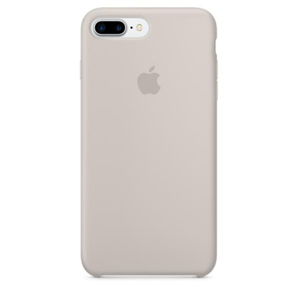 Apple Iphone 7 plus silicona piedra – Funda