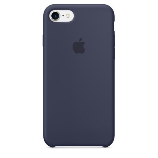 Apple Iphone 7 silicona azul noche – Funda