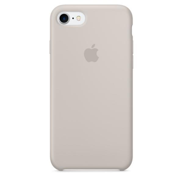 Apple Iphone 7 silicona piedra – Funda