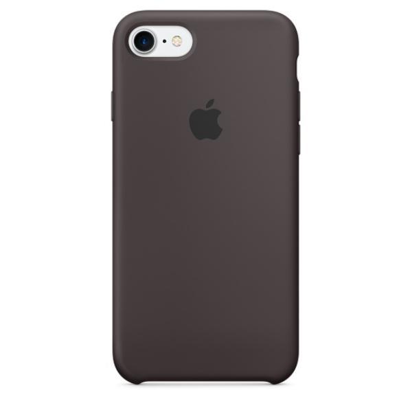 Apple Iphone 7 silicona cacao  Funda