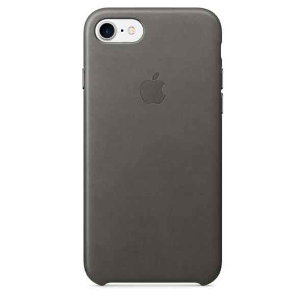 Apple Iphone 7 cuero gris tormenta – Funda