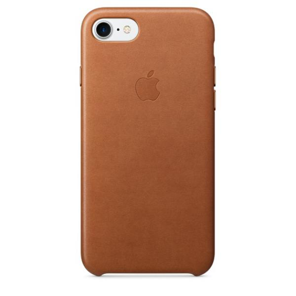 Apple Iphone 7 cuero marron caramelo – Funda
