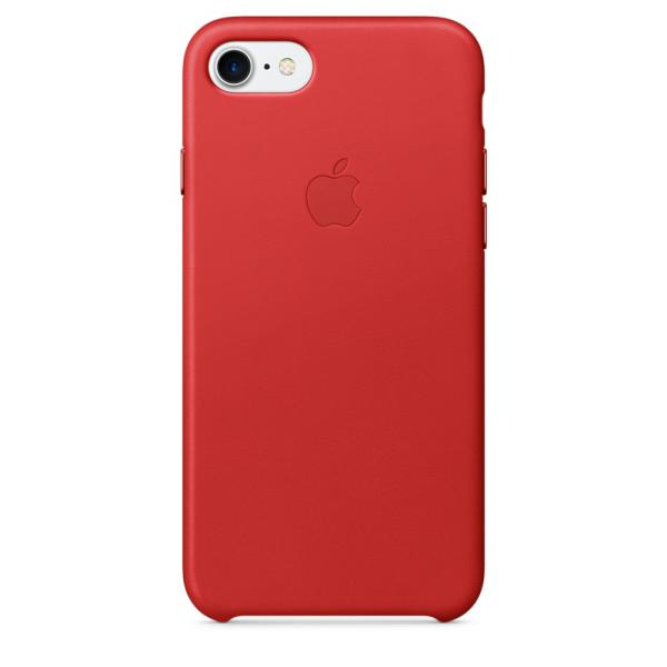 Apple Iphone 7 cuero rojo – Funda
