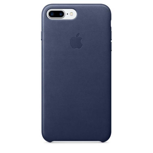 Apple Iphone 7 plus cuero azul noche  Funda