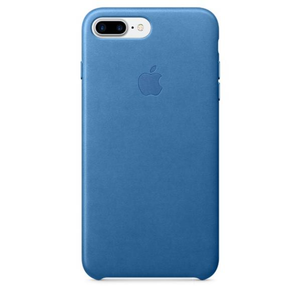 Apple Iphone 7 plus cuero azul mar  Funda
