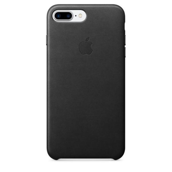 Apple Iphone 7 plus cuero negro  Funda