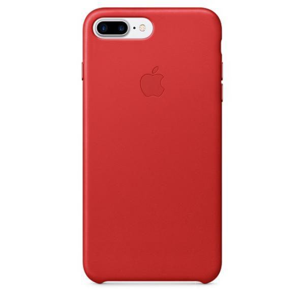 Apple Iphone 7 plus cuero rojo  Funda