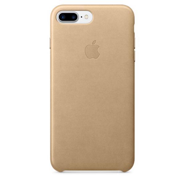 Apple Iphone 7 plus cuero canela – Funda