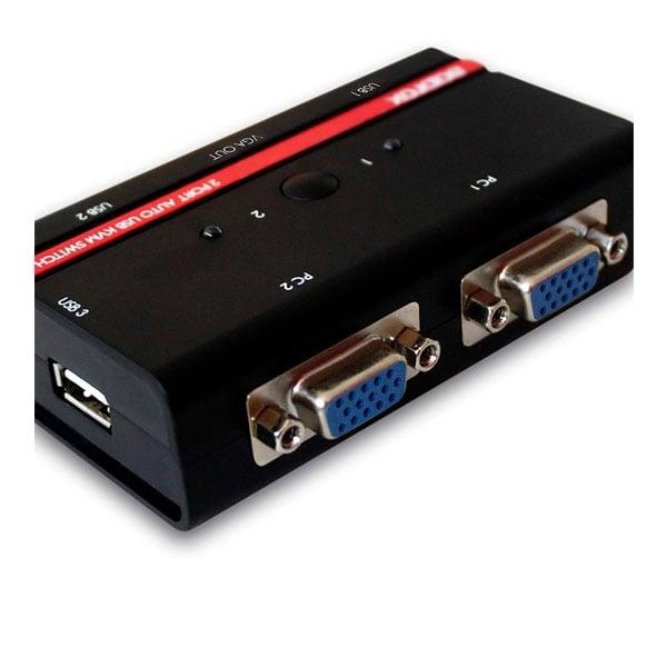 approx APPKVMUSB2PV2 Conmutador KVM USBVGA  KVM