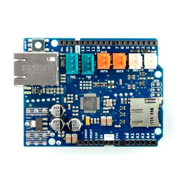 Arduino Ethernet Shield 2 sin POE para UNO Rev3  Accesorio