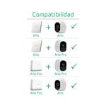 Arlo Pro Kit 1 camaras + sirena - Cámaras IP