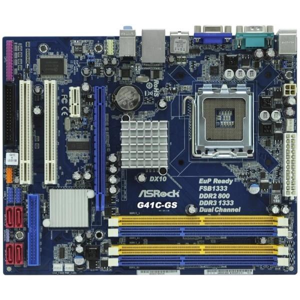ASRock G41C-GS R2.0 – Placa Base