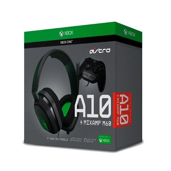 Astro A10 MixAmp M60 XboxOne gris y verde – Auricular