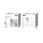 Asus SDRW08U7MU DVD USB Plateada  2 MDisc  Grabadora
