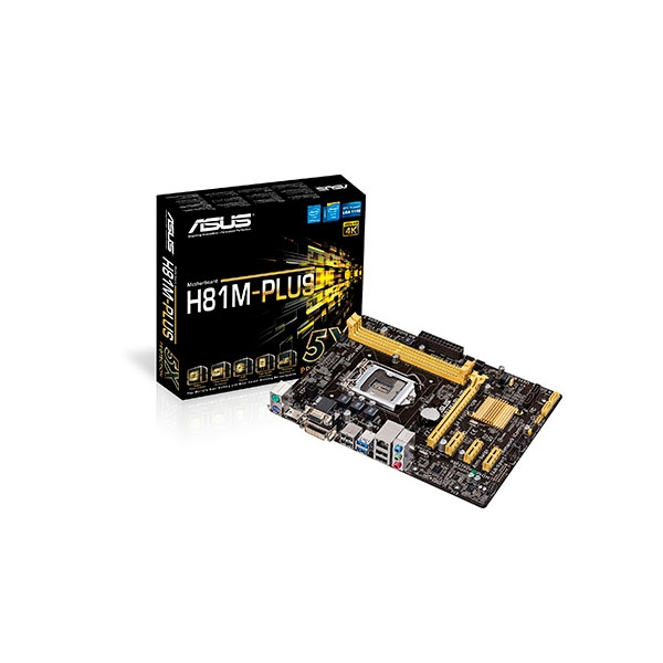 ASUS MB H81M-PLUS - Placa base