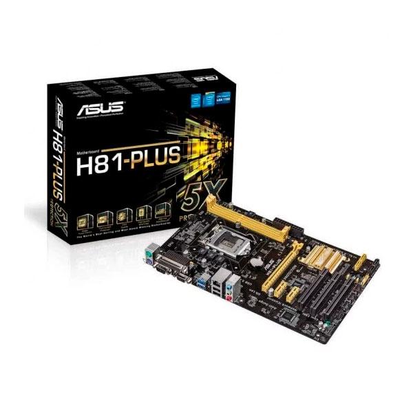 Asus H81-PLUS – Placa Base