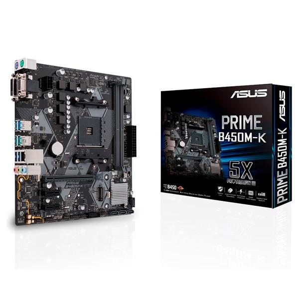 Asus Prime B450M-K – Placa Base